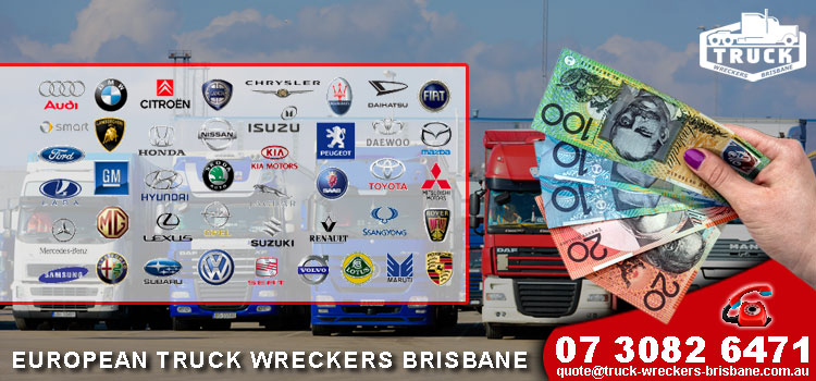 European Truck Wreckers Brisbane